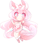 Pink Flying Squirrel (SOLD) by RumCandyAdopt