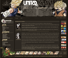 Webdesign Dragon Ball Z by brolyomega