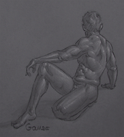 Figure Drawing #77 by AngelGanev
