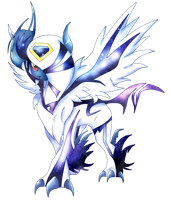 Corrupted Mega Absol by kari10001