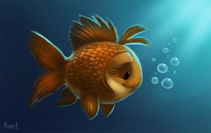 DAY 62. Lil' Fishy (30 Minutes) by Cryptid-Creations