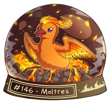 146 - Moltres by oddsocket