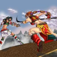 Sueng Mina vs Talim by cuteskittles4u