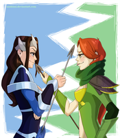 whose is the superior arrow? by nashimi