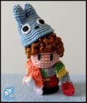 Four with Totoro hat by Randalassa