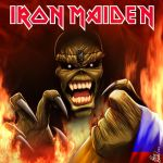 iron maiden en colombia by HelverAsbeth