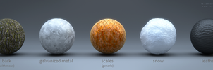 Cycles Material Studies - Volume 8 by reynante