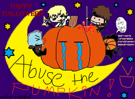 Halloween Special ABUSE by emokiss-ringingbell