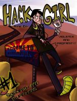 Hack Girl 1: Cover by AnnieDraws