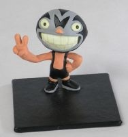 Mascarita toy by moneroman