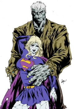Solomon Grundy Bizarro Supergirl by caiomarcus art by Kenkira