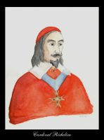Cardinal Richelieu by The-Black-Panther