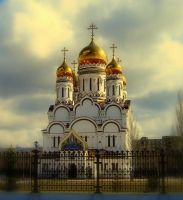 Transfiguration Cathedral by Mihenator