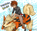 Green/Gary Oak for Natalia~ by CrisFHatena