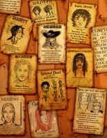 Wanted Posters by tarorae