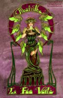 Absinthe Fairy Poster by redrevvy