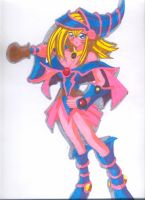 Dark Magician Girl by maudrake