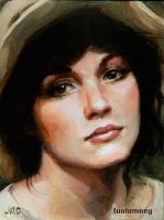Lady with Hat by tuolumney