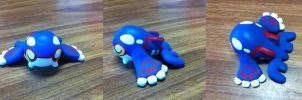 Chibi Kyogre Figurine by Oukami4