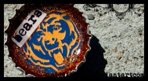 bears bottlecap by quidditchmom