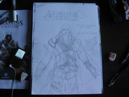 Assassin's creed II cover(2nd version:particulars) by BoogieChan98