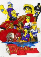"""Onepiece """"S""""trawhat Crew by G1d4n"""