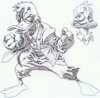 Howard the Duck by timothygreenII