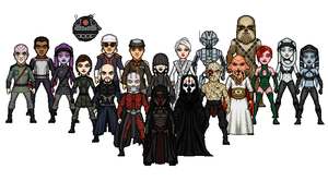 KOTOR Villains by SpectorKnight