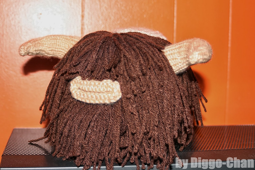 Knitted Bantha by Diggo-Chan