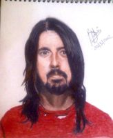 Dave Grohl by bellamyribeiro