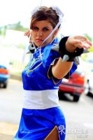 Chun-Li Cosplay by x-Crys-x