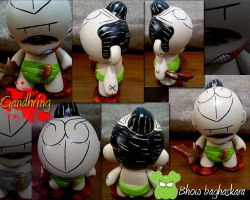 Custom Arttoys munny V4 by bhow
