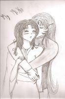 I missed you, MY miko by loryx