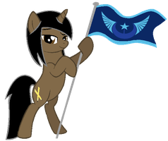 [DOLL] Golden Nights holding the NLR Flag by LR-Studios