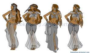 Gypsy Character clothing ideas by PookiePony