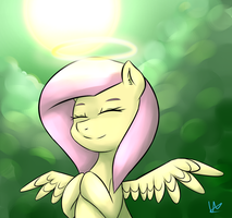 Such an angel (remake) by Wolfy-Pony