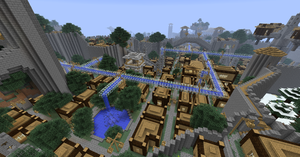 Minecraft: Manasia - Fortress City 13 by Denis-Manase