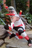 Killer Bee 6 at Katsucon 2014 by kakashi-shishio