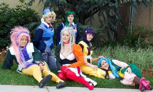 [TENCHI GROUP] All My Wrecked-Up Friends by Windaria