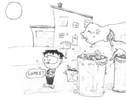 Trash Day Eve by DDCrazy
