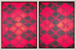 Argyle Reversible Close-up by LadyFoxtails