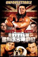 WWE - BRITISH BULLDOG Davey Boy Smith by TheIronSkull