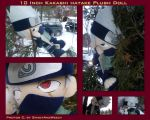 Kakashi Hatake Plush by DoloAndElectrik