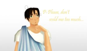 .: '' Don't scold me... '' :. by EpiclyAwesomePrussia