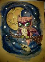 The Owl by MissAcidDoll