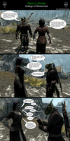Skyrim is Strange - College of Winterhold by HelloMyNameIsEd