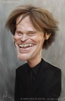 Willem Dafoe by macpulenta