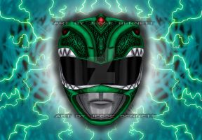 Green Ranger! by blueliberty