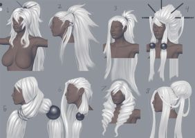 Hair Concepts by splatpixel