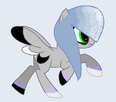 Silver Burst - MLP OC - DO NOT STEAL OR ELSE by emaopup156443